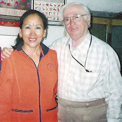 Dr. H.R. Narasimhan with Son Hui Yi